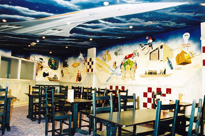 The Great Pizza Discovery Restaurant Commercial Interior Design
