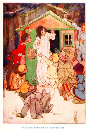 Wendy house from Peter Pan